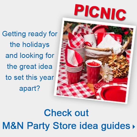 Check out M&N Party Store idea guides