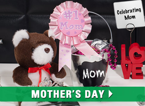 Shop Mother's Day Gifts and Party Supplies