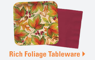 Rich Foliage Tableware