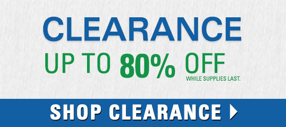 Shop Clearance and Get up to 80% Off Select Products