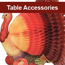 Thanksgiving Table Accessories