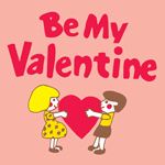 0835 - Be My Valentine Kids wit