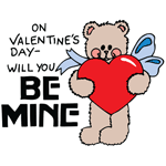 0845 - Be Mine Bear w/ Heart