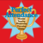 2244 - perfect attendance