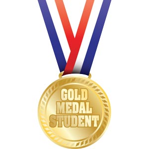 3461 - gold medal student