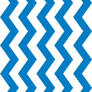 3755 - Royal Blue Chevron