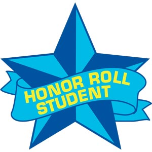 4204 - Honor Roll Student Star