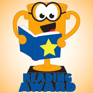 4208 - Reading Award Trophy
