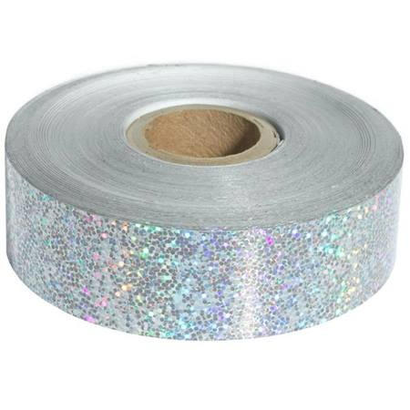 Metallic Silver Sparkle Tape