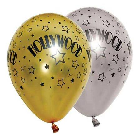 Hollywood Stars Latex Balloons