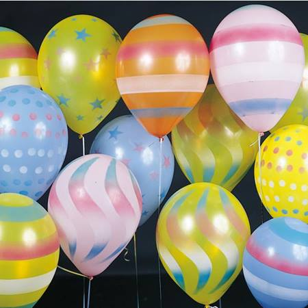 Spray Latex Balloons