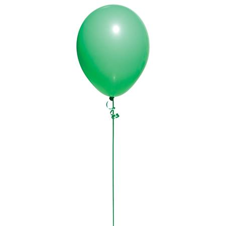 Fashion Green Latex Balloons, 25/pkg