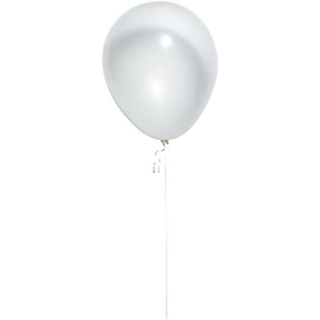 Fashion Clear Latex Balloons, 25/pkg