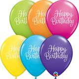 "Happy Birthday 11"" Latex Balloons, 50/pkg"