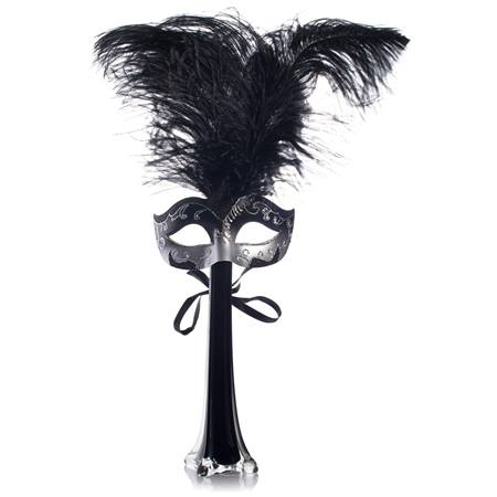 Masquerade Black Mask Centerpiece Kit