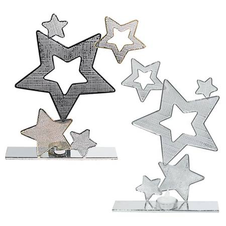 Star Wire Centerpieces, Set of Two
