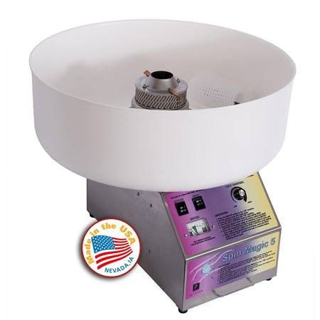 Spin Magic Cotton Candy Machine with Plastic Bowl