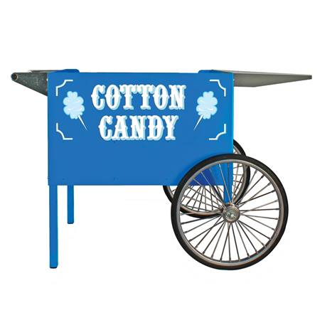 Deep Well Cotton Candy Cart, Blue