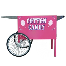 Deep Well Cotton Candy Cart, Pink