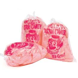 Cotton Candy Bags with Clown Design