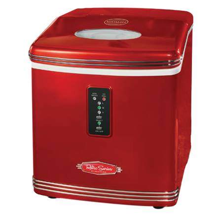 '50s-Style Automatic Ice Maker