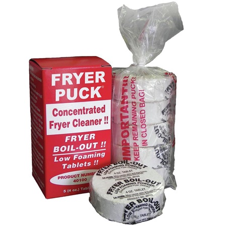Fryer Puck Concentrated Fryer Cleaner