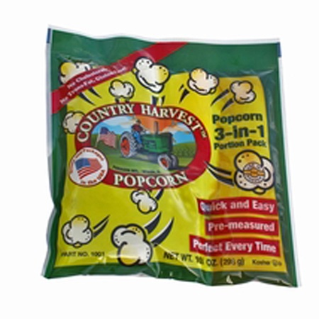 Country Harvest Tri-Pack for 8 oz Popcorn Machine