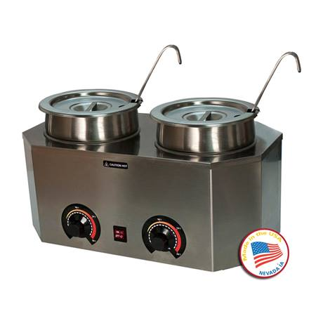 Dual Prodeluxe Warmer with Ladles