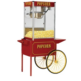 Theater Popcorn Machine Cart for 8 oz Popcorn Machine