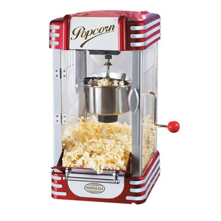 Retro Series Kettle Popcorn Maker