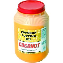 Coconut Popcorn Popping Oil, 1 Gallon