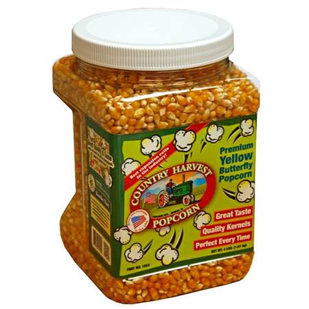 Bulk Jar Yellow Butterfly Popcorn, 4 lb