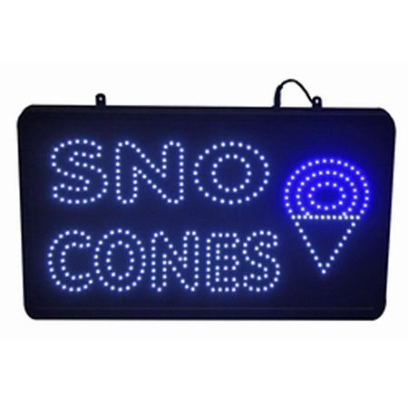 LED Sno-Cone Sign