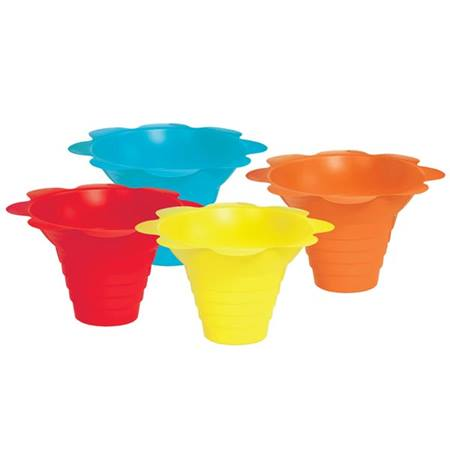 Sno-Cone Flower Drip Tray Cups
