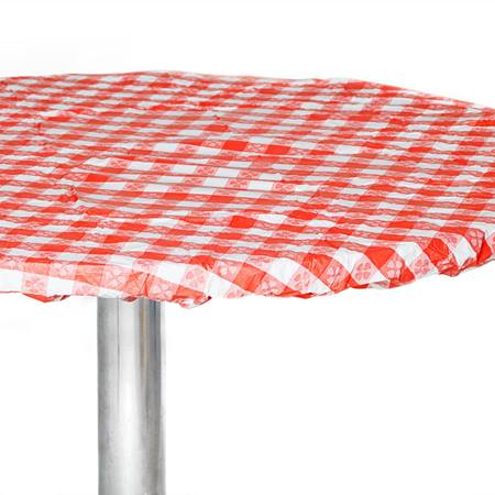 Kwik Cover Pattern Round Table Cover - 48 in