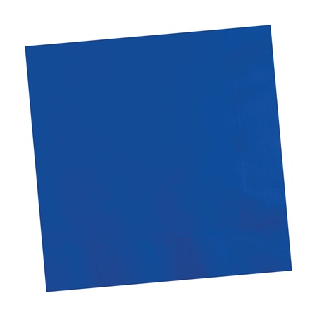 Cobalt Blue Beverage Napkins