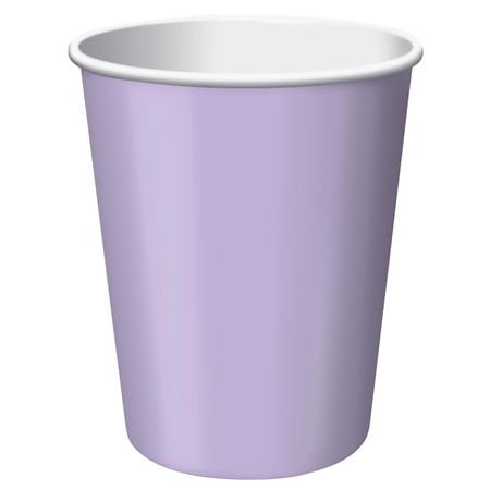 9oz Solid Color Cups - Lavender