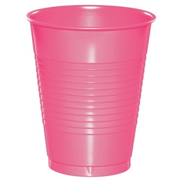 Plastic Cups 16oz - Candy Pink