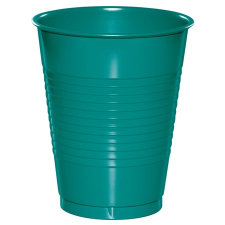 Plastic Cups 16oz - Teal