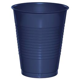 Plastic Cups 16oz - Navy Blue