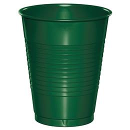Plastic Cups 16oz - Hunter Green