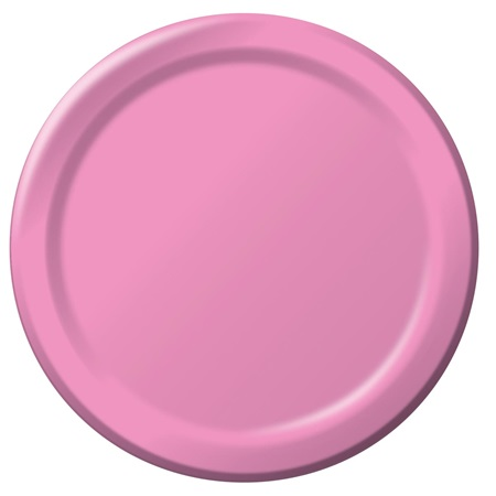 "Paper Dinner Plates 9"" - Candy Pink"