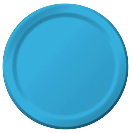 "Paper Dinner Plates 9"" - Turquoise"