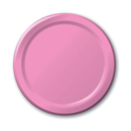 "Paper Luncheon Plates 7"" -Candy Pink"