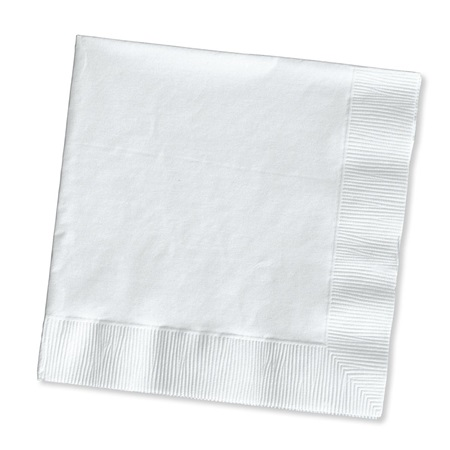 Beverage Napkin (PKG/200) - White