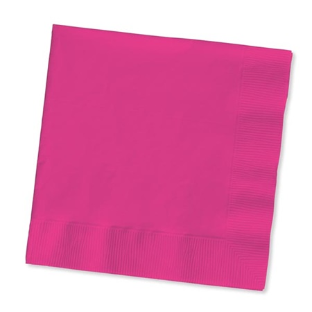 Beverage Napkin (PKG/200) - Hot Pink