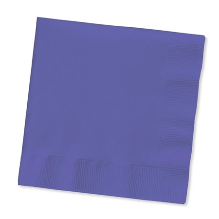 Beverage Napkin (PKG/200) - Royal Purple