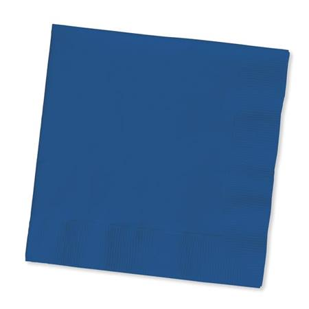 Beverage Napkin (PKG/200) - Navy Blue