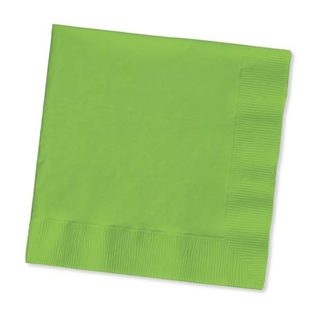 Beverage Napkin (PKG/200) - Lime