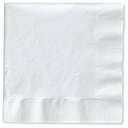 Lunch Napkin (PKG/150) - White